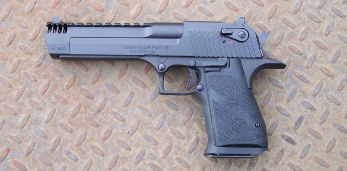 Desert Eagle .44 Magnum Pistol, by Pat Cascio