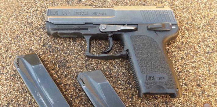 Heckler & Koch USP .45 ACP Compact, by Pat Cascio